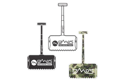 DMOS Shovel Stickers - 3 pack Accessories DMOS | Pro Shovel Tools