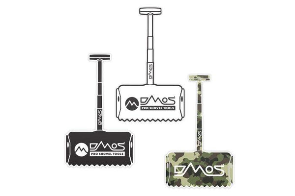 DMOS Shovel Stickers - 3 pack