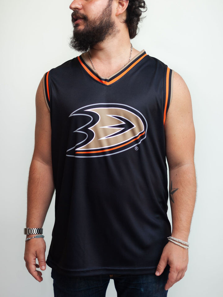 ANAHEIM DUCKS HOCKEY TANK - Front - Life1