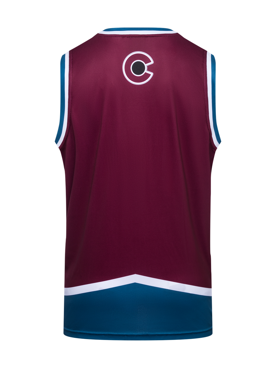 Colorado Avalanche Hockey Tank - Back