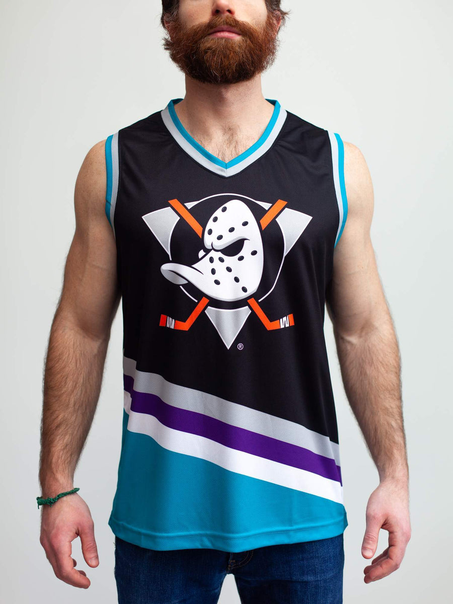 Anaheim Mighty Ducks Alternate Hockey Tank - Front - Life2