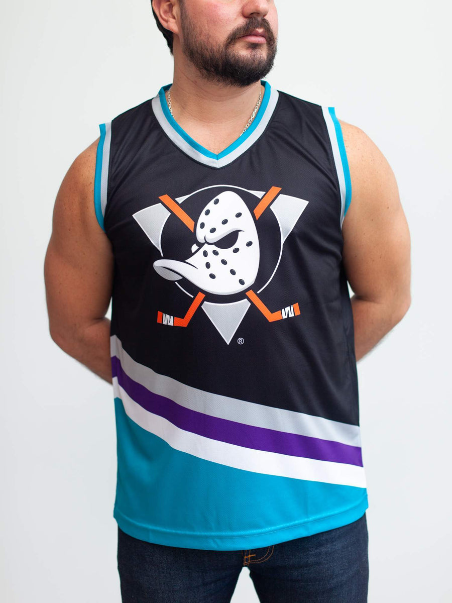 Anaheim Mighty Ducks Alternate Hockey Tank - Front - Life1