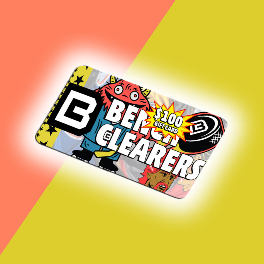 Bench Clearers Gift Card - 100USD