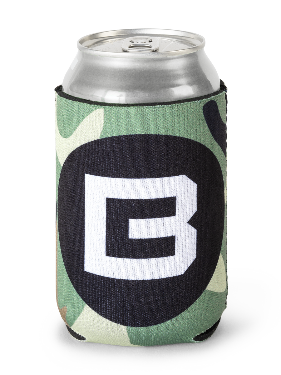 BC Can Cooler - Camo - Front