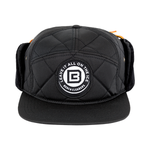 "BC ""THE TRACKER"" HAT - BLACK - FRONT"