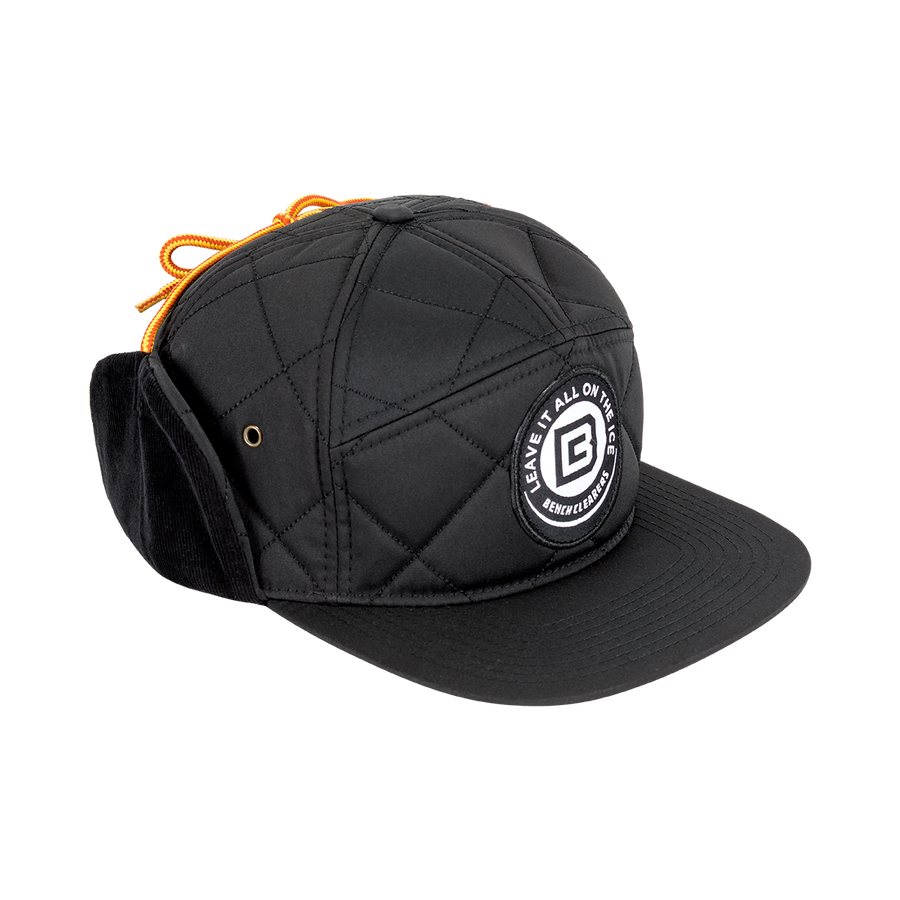 "BC ""THE TRACKER"" HAT - BLACK - SIDE"