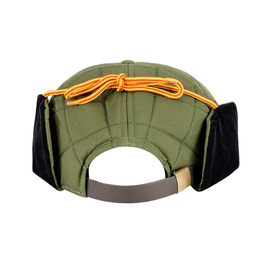 "BC ""THE TRACKER"" HAT - GREEN - BACK"