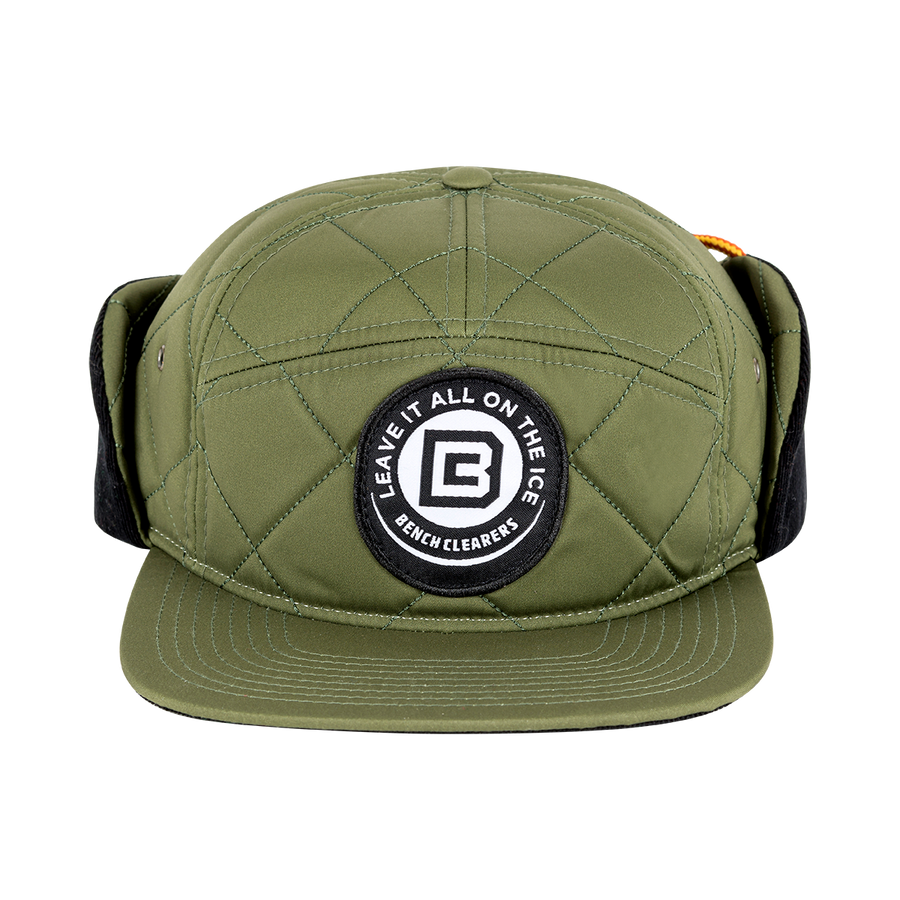 "BC ""THE TRACKER"" HAT - GREEN - FRONT"