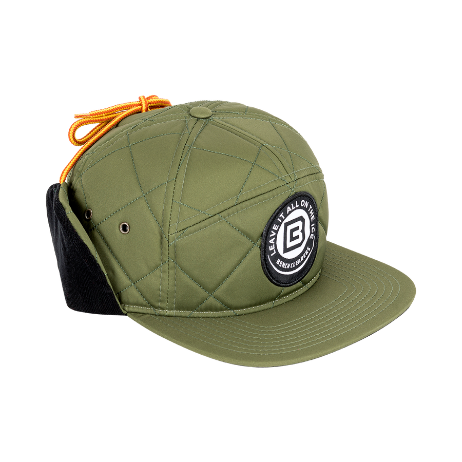 "BC ""THE TRACKER"" HAT - GREEN - SIDE"