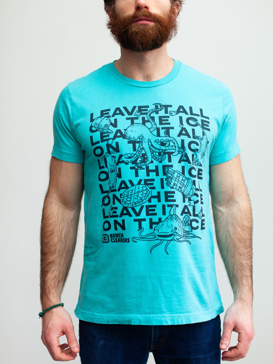 BC LEAVE IT ALL ON THE ICE T-SHIRT - Front - Life1