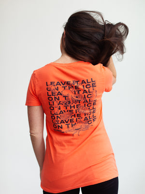 BC LEAVE IT ALL ON THE ICE WOMEN'S T-SHIRT - Life2
