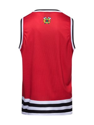 Chicago Blackhawks Hockey Tank - Back