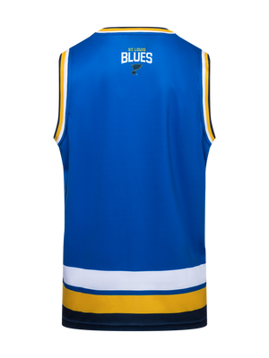 St. Louis Blues Hockey Tank - Back