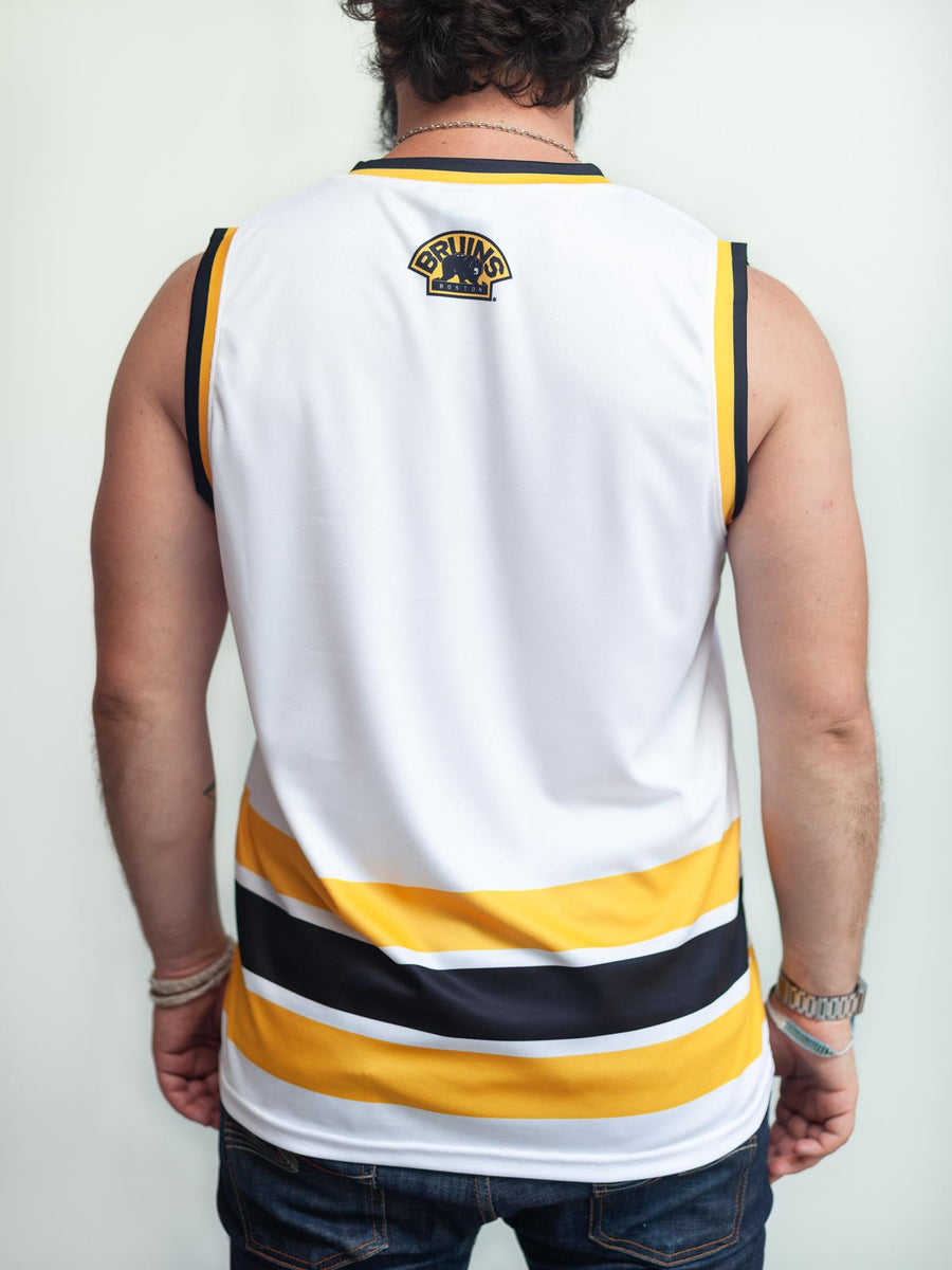 BOSTON BRUINS AWAY HOCKEY TANK - Back - Life1