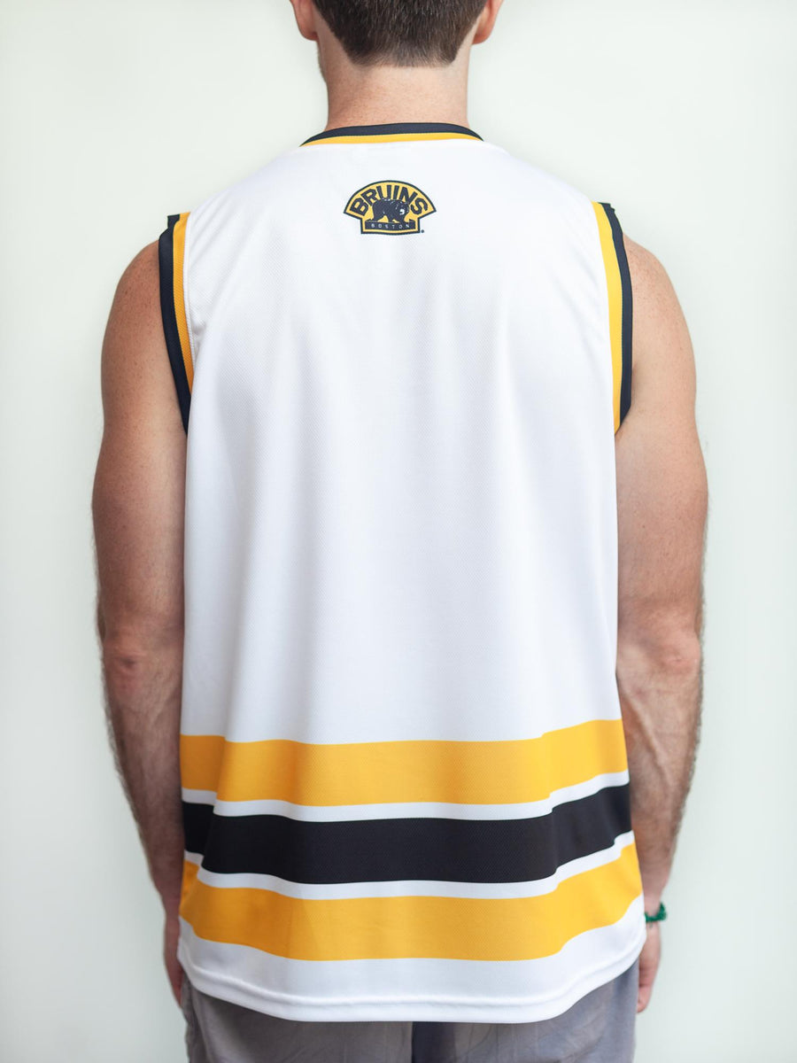 BOSTON BRUINS AWAY HOCKEY TANK - Back - Life2