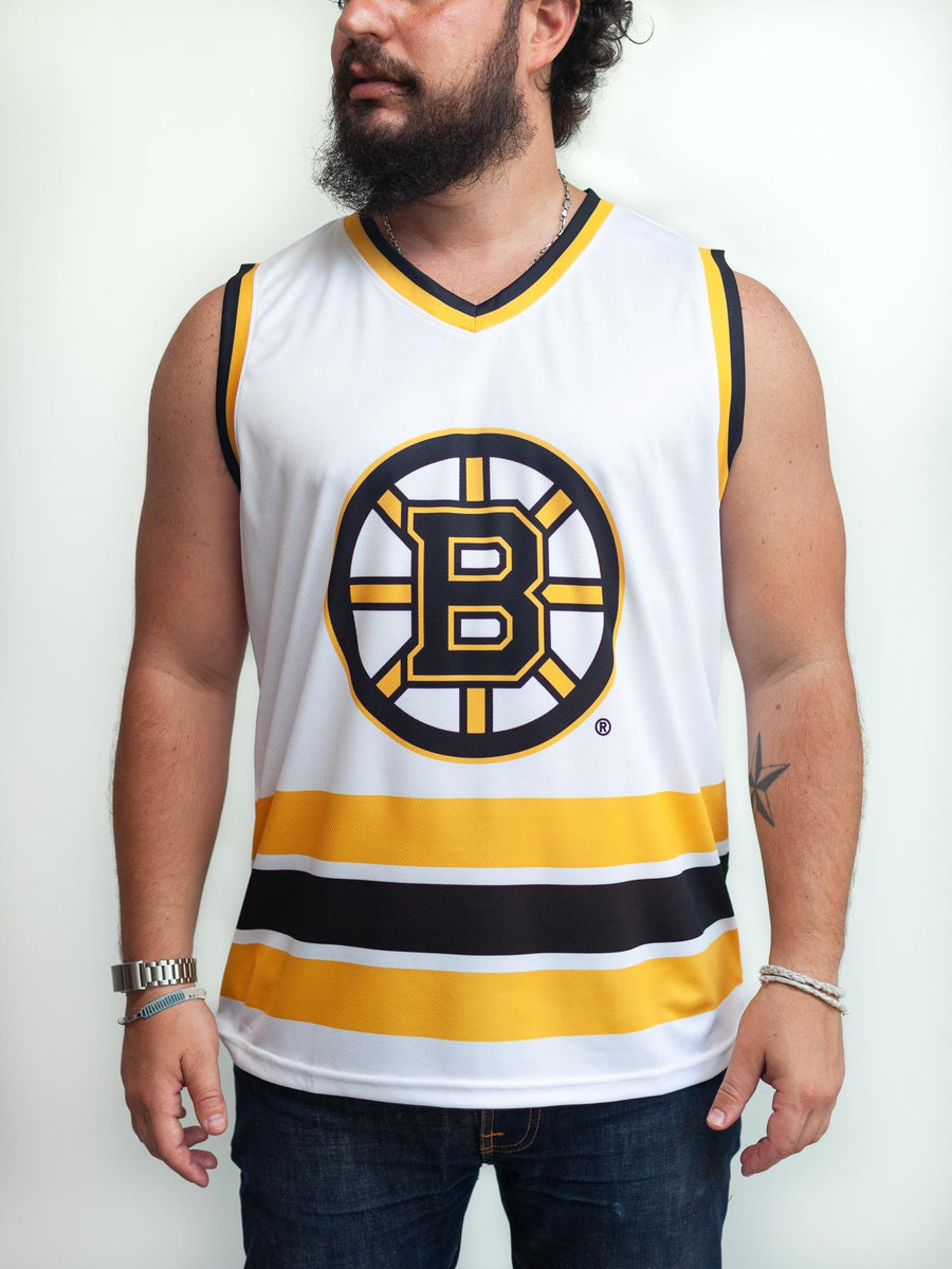 BOSTON BRUINS AWAY HOCKEY TANK - Front - Life2