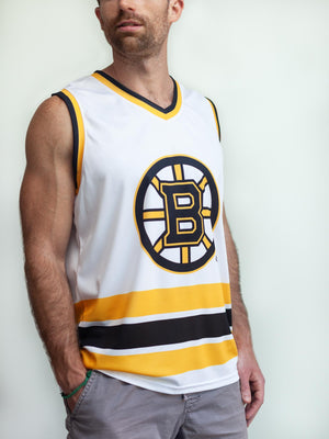 BOSTON BRUINS AWAY HOCKEY TANK - Front - Life3