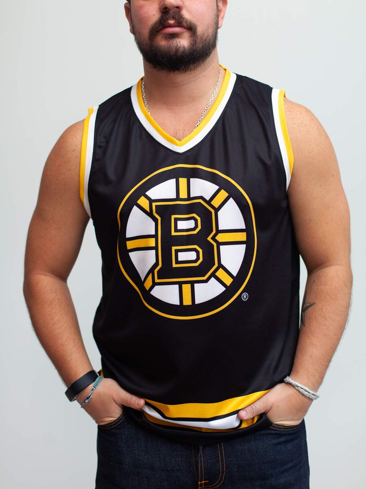 Boston Bruins Home Hockey Tank - Front - Life1