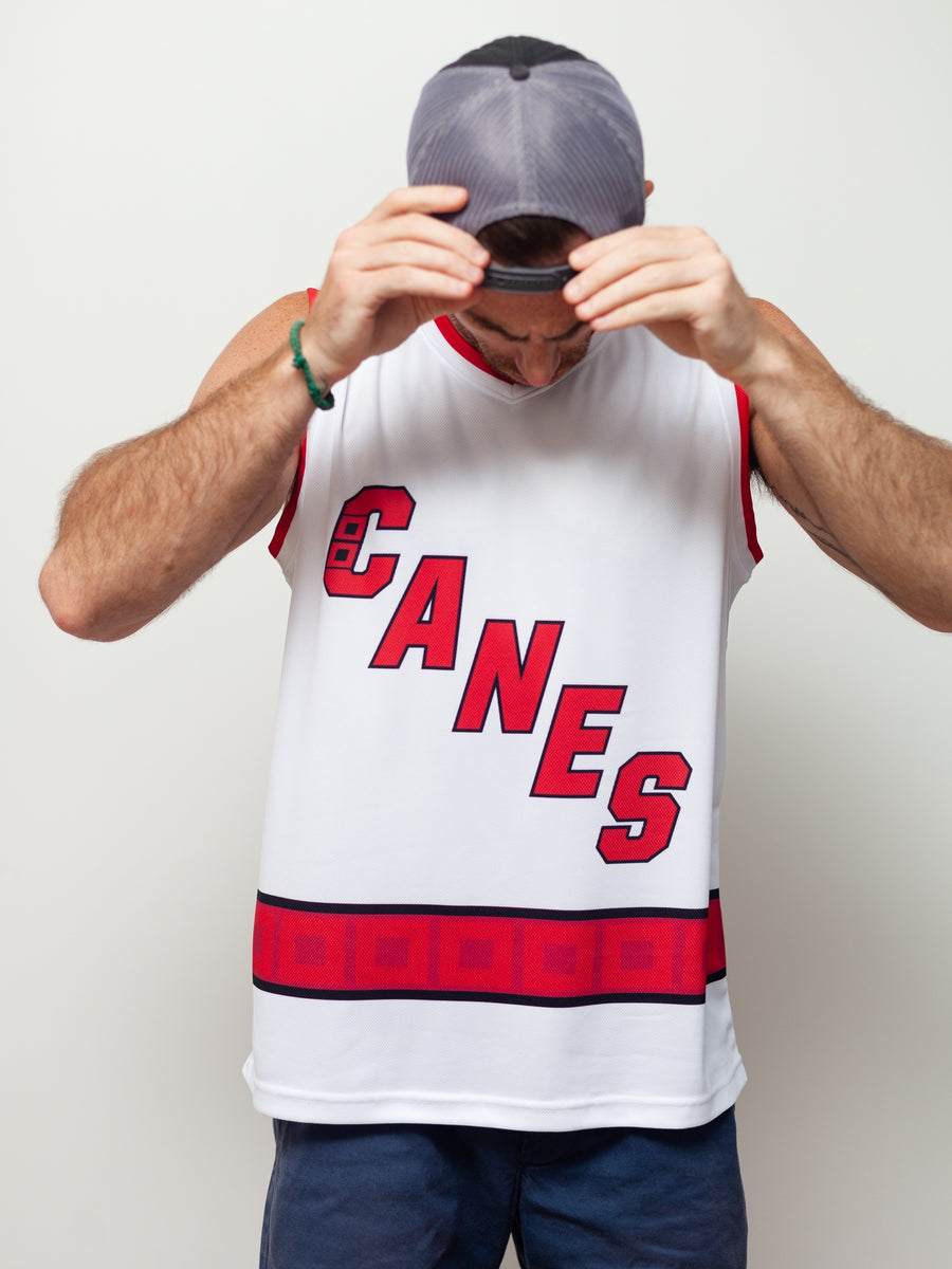 CAROLINA HURRICANES AWAY WC HOCKEY TANK - Front - Life2