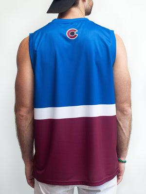 COLORADO AVALANCHE SS ALT HOCKEY TANK - Back - Life1