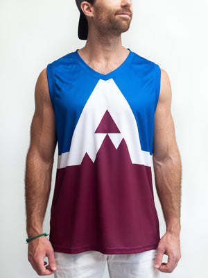 COLORADO AVALANCHE SS ALT HOCKEY TANK - Front - Life1
