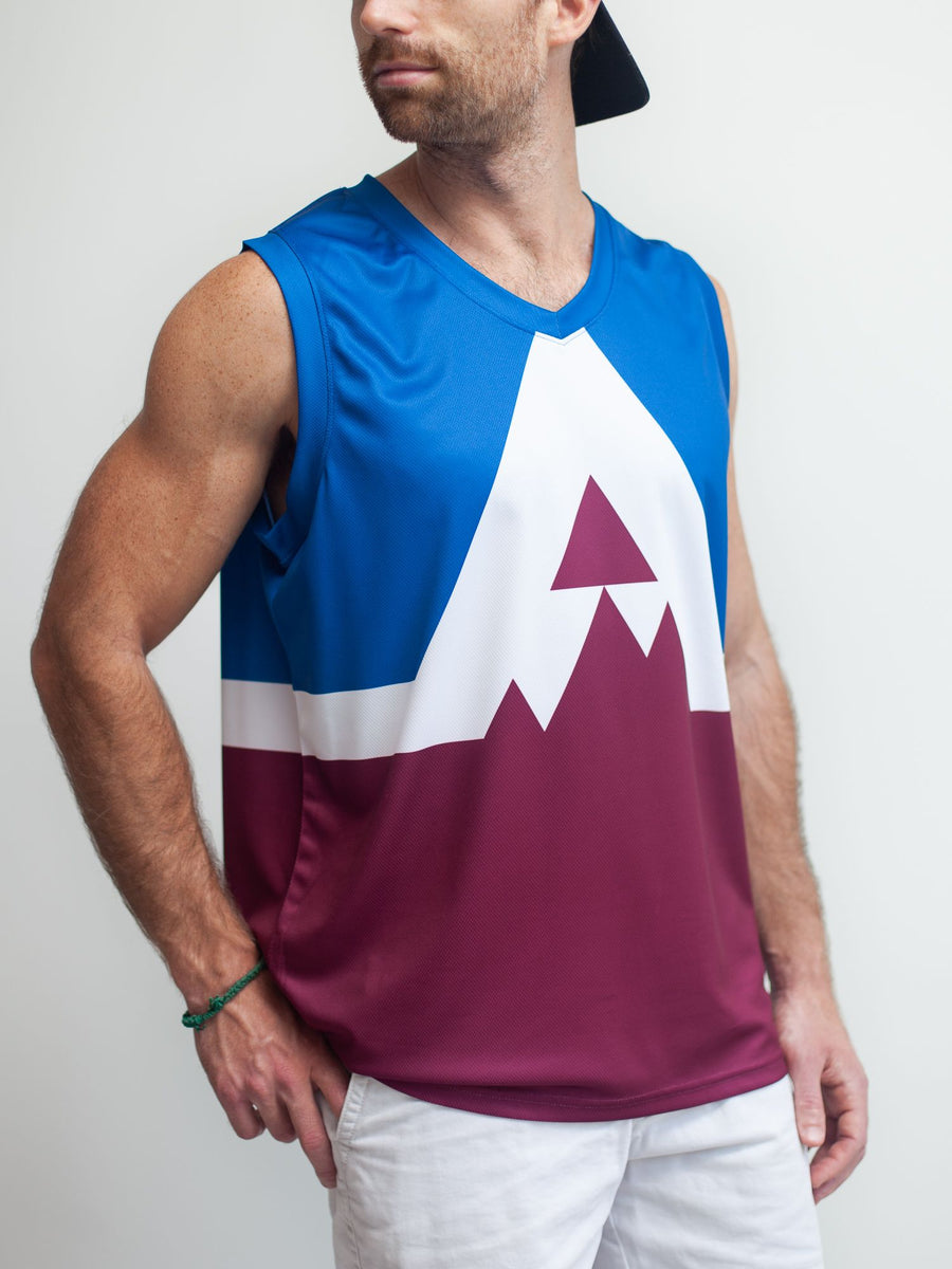 COLORADO AVALANCHE SS ALT HOCKEY TANK - Front - Life2