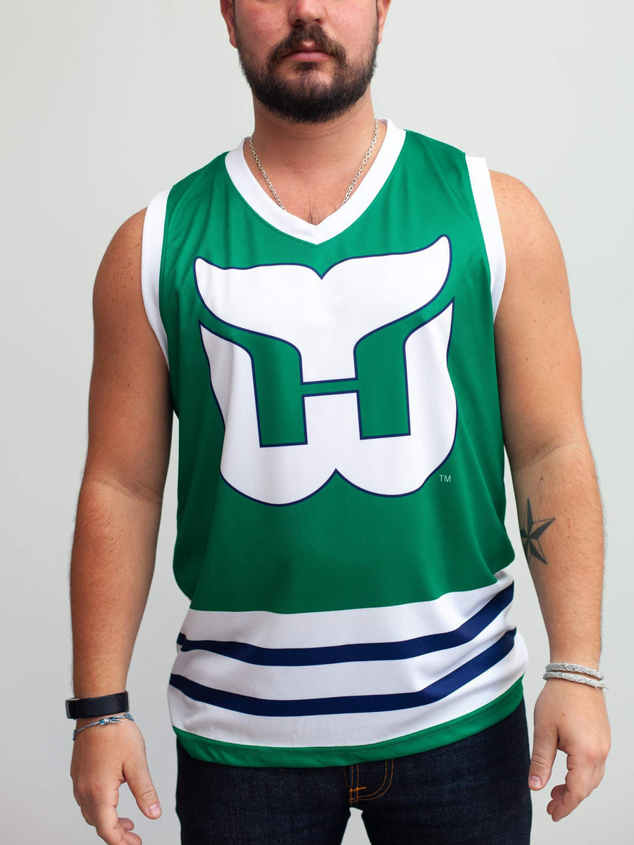 Carolina Hurricanes Hartford Whalers Alternate Hockey Tank - Front - Life1