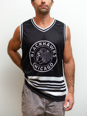 Chicago Blackhawks Alternate Hockey Tank - Front - Life4