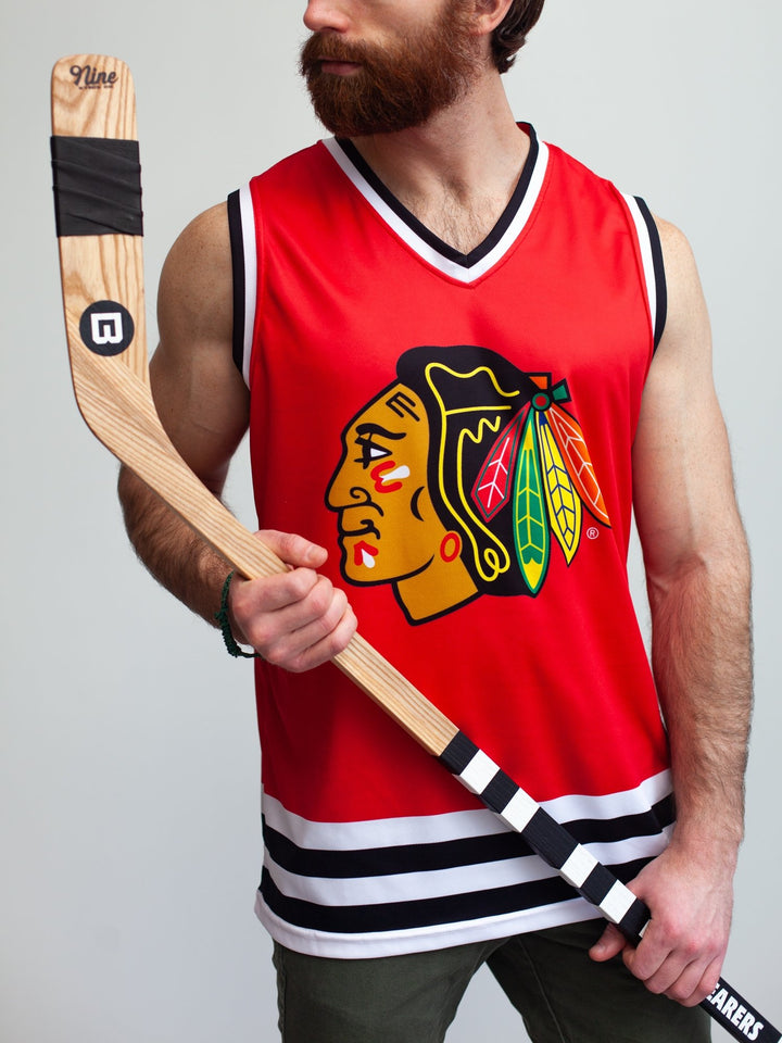 Chicago Blackhawks Home Hockey Tank - Front - Life3