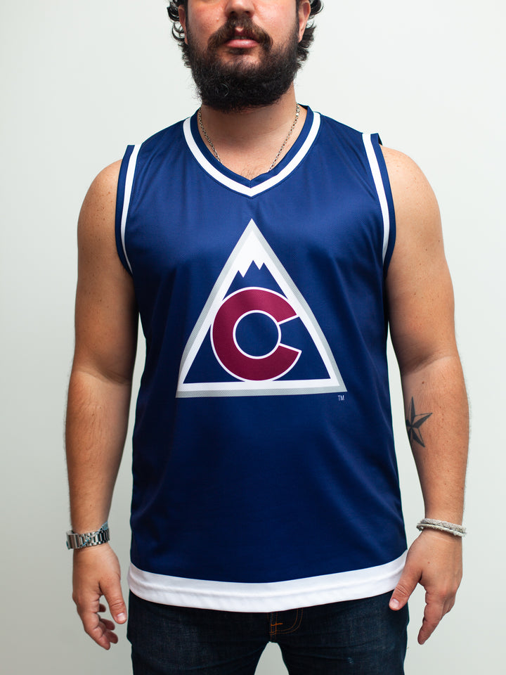 Colorado Avalanche Alternate Hockey Tank - Front - Life2