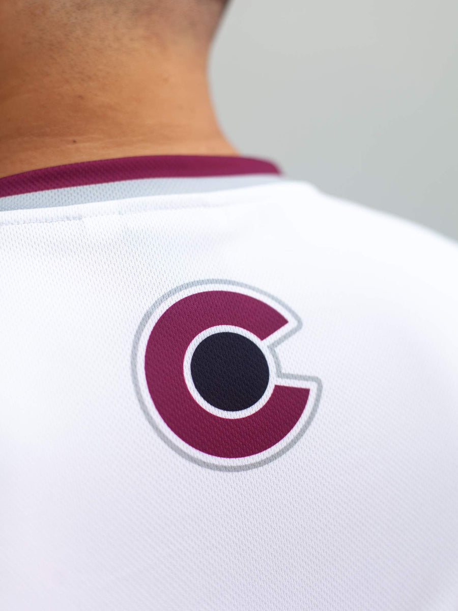 Colorado Avalanche Away Hockey Tank - Back - Life1