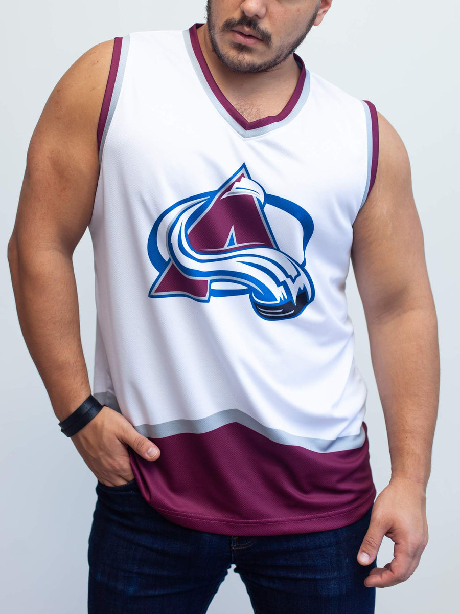 Colorado Avalanche Away Hockey Tank - Front - Life2