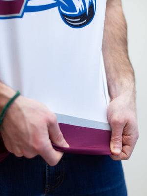 Colorado Avalanche Away Hockey Tank - Material Close-up