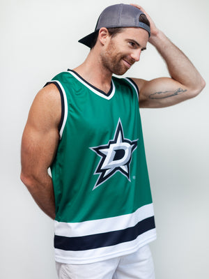DALLAS STARS HOCKEY TANK - Front - Life3