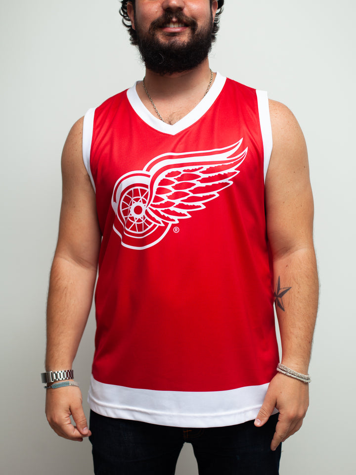Detroit Red Wings Home Hockey Tank - Front - Life1