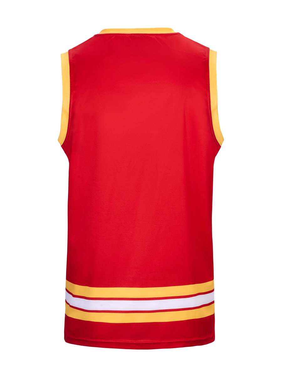 Calgary Flames Alternate Hockey Tank - Back