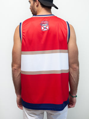 FLORIDA PANTHERS HOCKEY TANK - Back - Life1