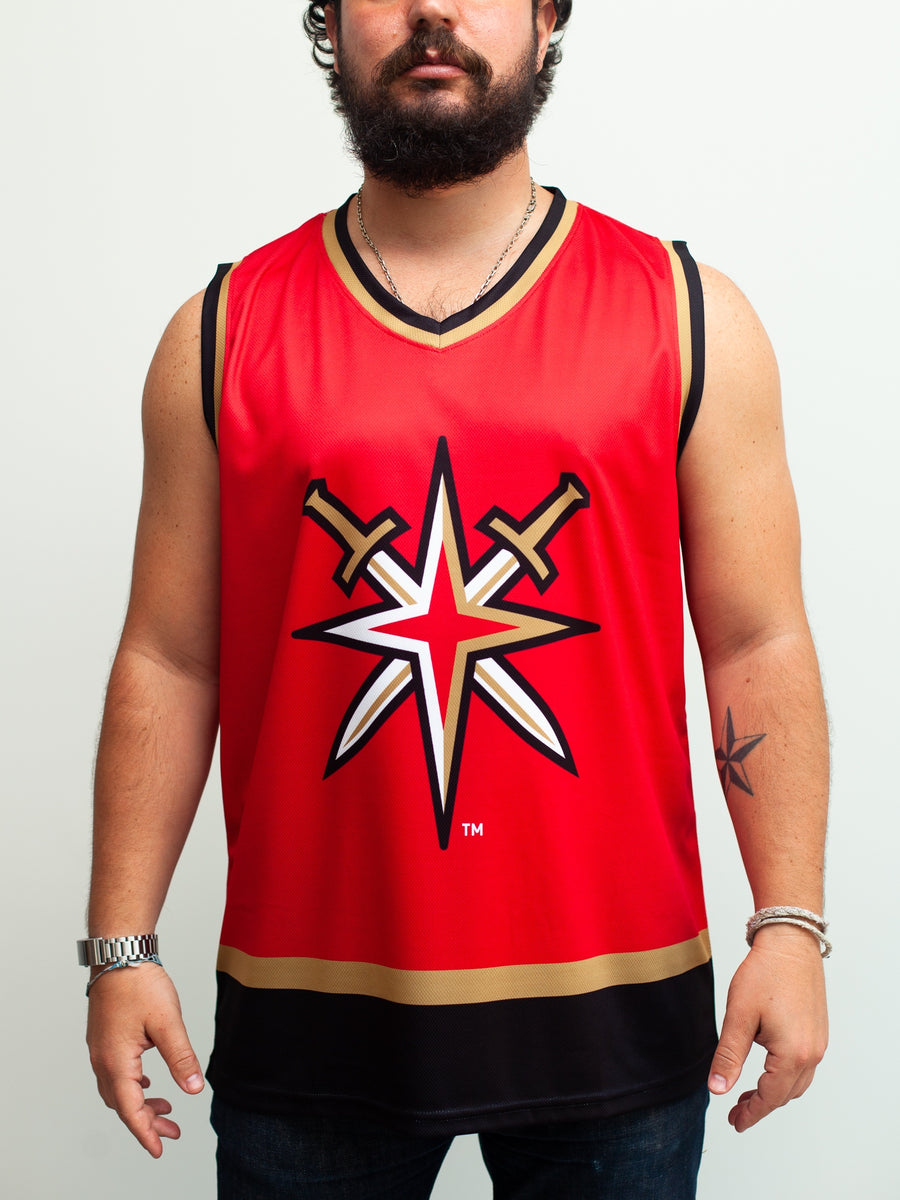 Las Vegas Golden Knights Alternate Mashup Hockey Tank - Front - Life1