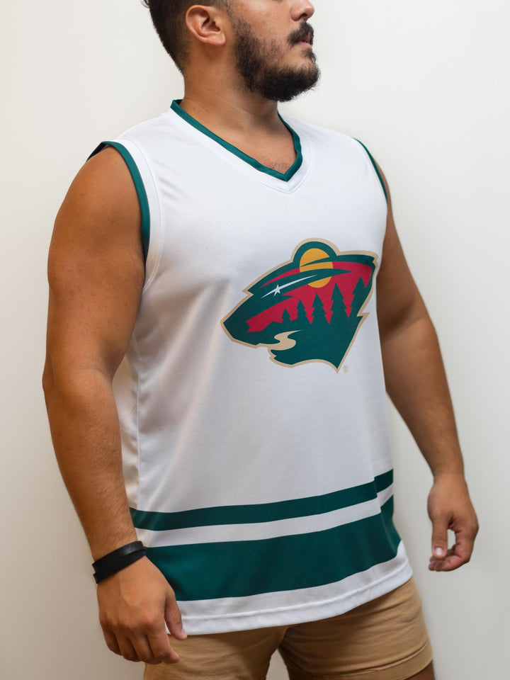 Minnesota Wild Away Hockey Tank - Front - Life2