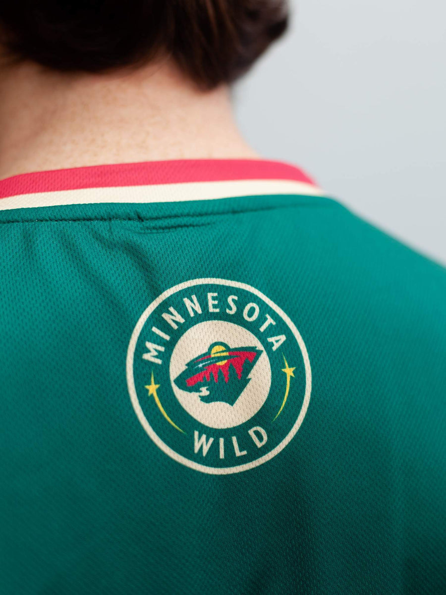 Minnesota Wild Home Hockey Tank - Back - Life