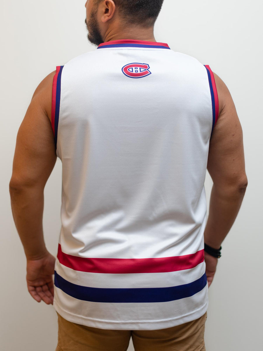 Montreal Canadiens Away Hockey Tank - Back - Life1