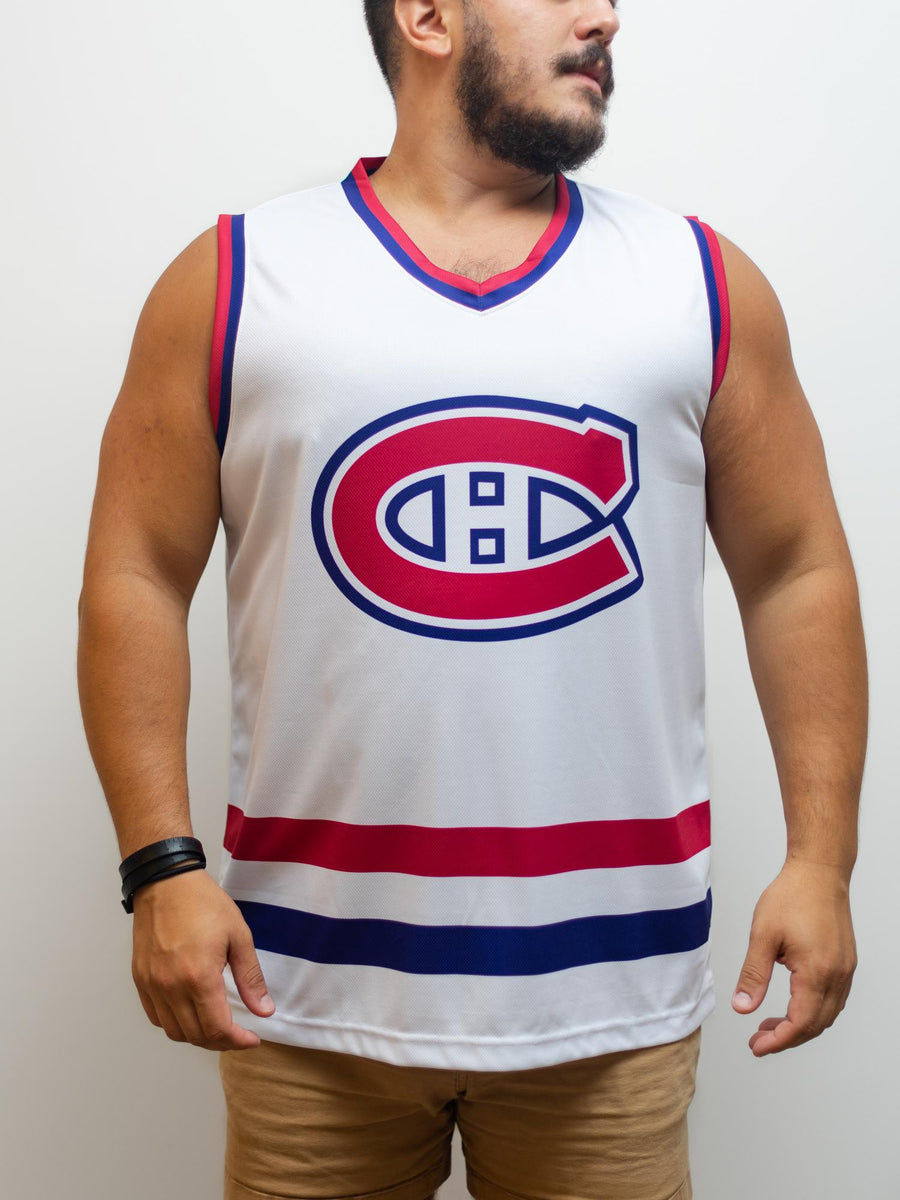Montreal Canadiens Away Hockey Tank - Front - Life1