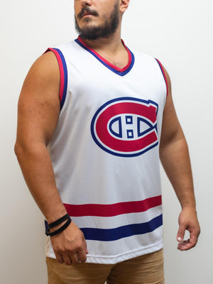 Montreal Canadiens Away Hockey Tank - Front - Life2