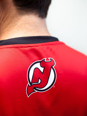 NEW JERSEY DEVILS HOCKEY TANK - Back - Life2