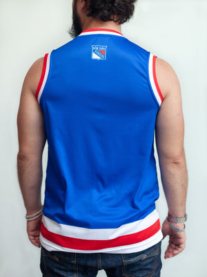 NEW YORK RANGERS HOCKEY TANK - Back - Life1