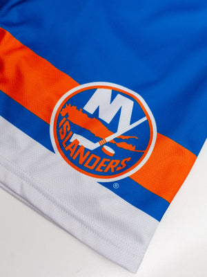New York Islanders Mesh Hockey Shorts - Logo