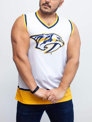Nashville Predators Away Hockey Tank - Front - Life2