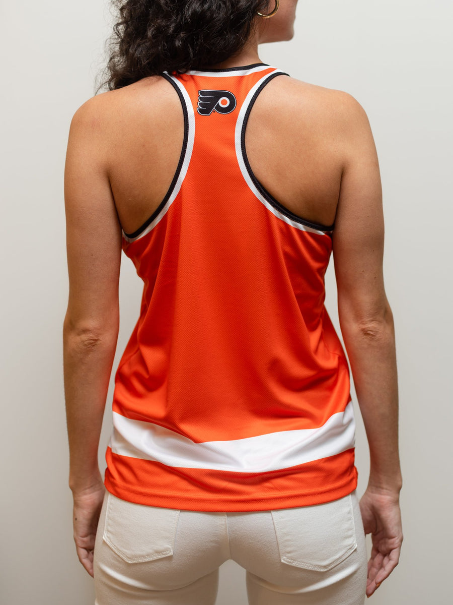 PHILADELPHIA FLYERS WOMEN'S RACERBACK HOCKEY TANK - Back - Life1