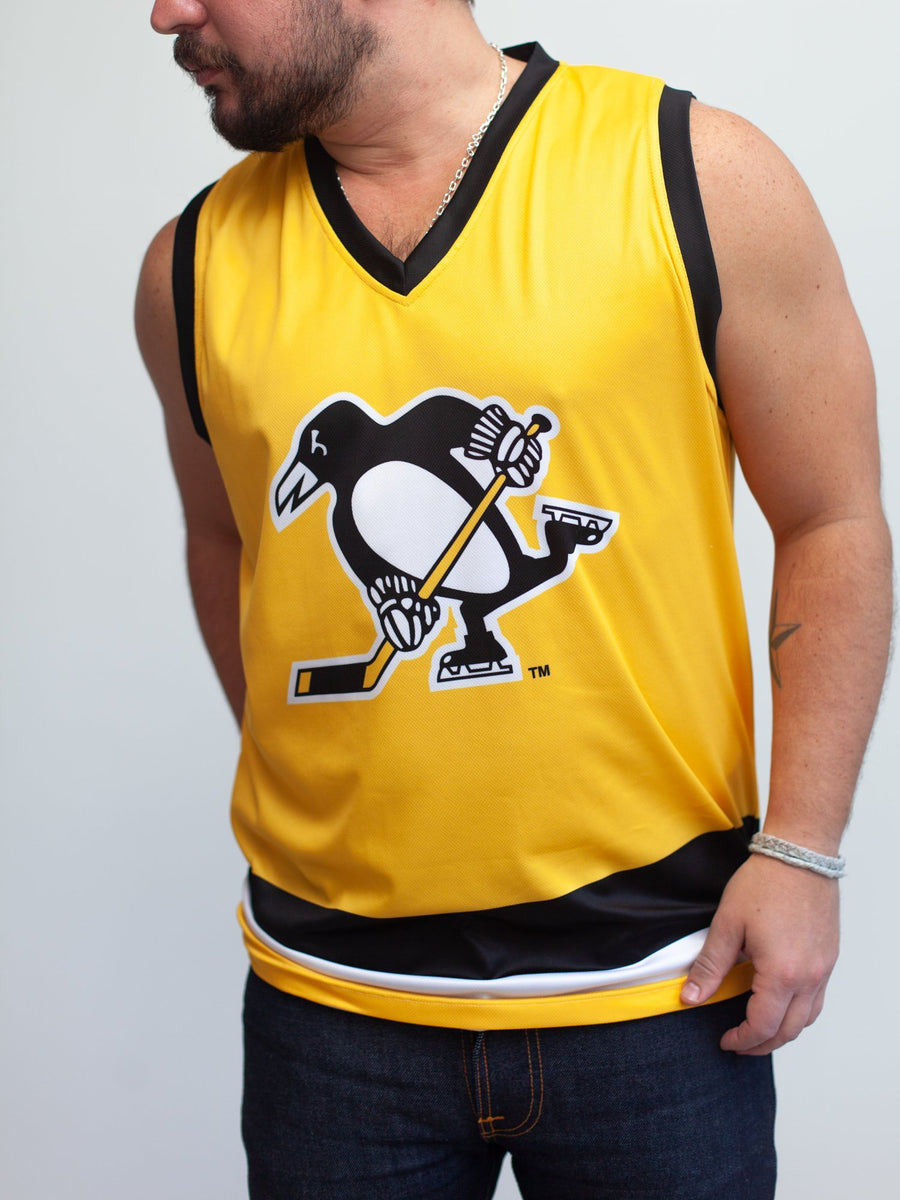 Pittsburgh Penguins Alternate Hockey Tank - Front - Life2