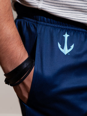 Seattle Kraken Mesh Hockey Shorts - Alt